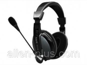 Наушники с микрофоном HAVIT HV-H136d iron grey (c регулятором громкости)