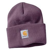 Шапка - Carhartt  - Classic A18 Beanie Hat Deep Violet (Зимняя\Зимова шапка)