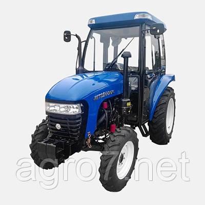 Трактор JMT3244HXC (24 л.с, 4×4, ГУР)