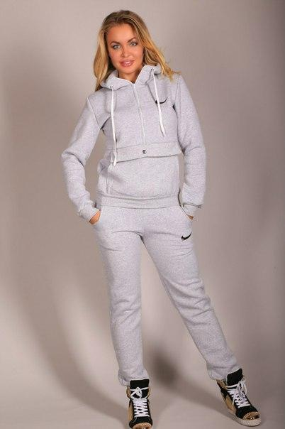 Женский теплый спортивный костюм на флисе  9fabe15fd78d3