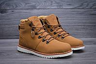Мужские зимние ботинки Timberland с мехом (Реплика AAA+)