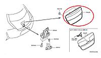 Nissan Leaf Ручка дверки багажника