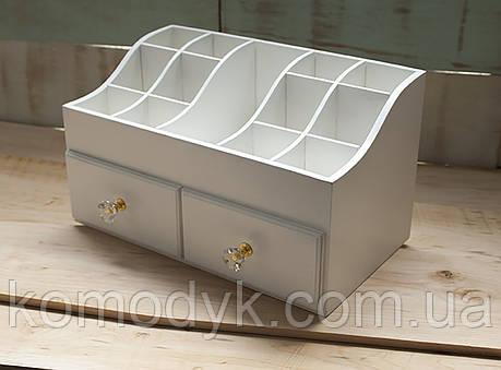 Комод для косметики з двома ящиками, фото 2