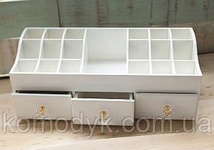 Комод для косметики з трьома ящиками, фото 2