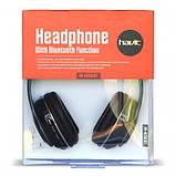 Навушники безпровідні Bluetooth HAVIT HV-H2561BT black, фото 2