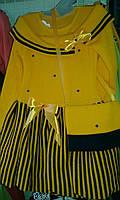 Платье для маленьких принцесс Ася  Венгерский трикотаж Lili Kids 92-116 см