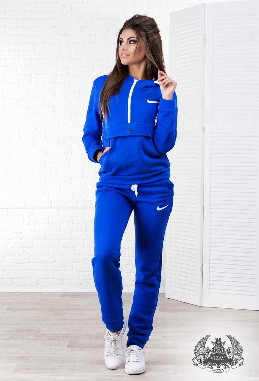 598ffacf Женский теплый спортивный костюм на флисе , синий: продажа, цена в ...