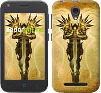 "Чехол на ZTE L110 Diablo 3. Tyrael on a beige background ""623u-435-8656"""