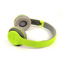 Наушники беспроводные Bluetooth HAVIT H2575BT grey/green , фото 1