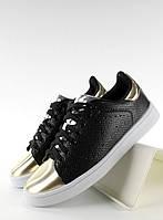 11-13 Черные женские кроссовки с металлическими носками YP-01 41,39,38,37,36