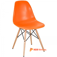 Стул Тауэр Вуд пластик оранжевый (СДМ мебель-ТМ)