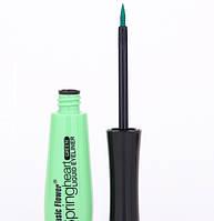 Подводка для глаз цветная MUSIC FLOWER Цвет зеленый