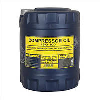 Компрессорное масло MANNOL (COMPRESSOR OIL ISO 100) 10л.