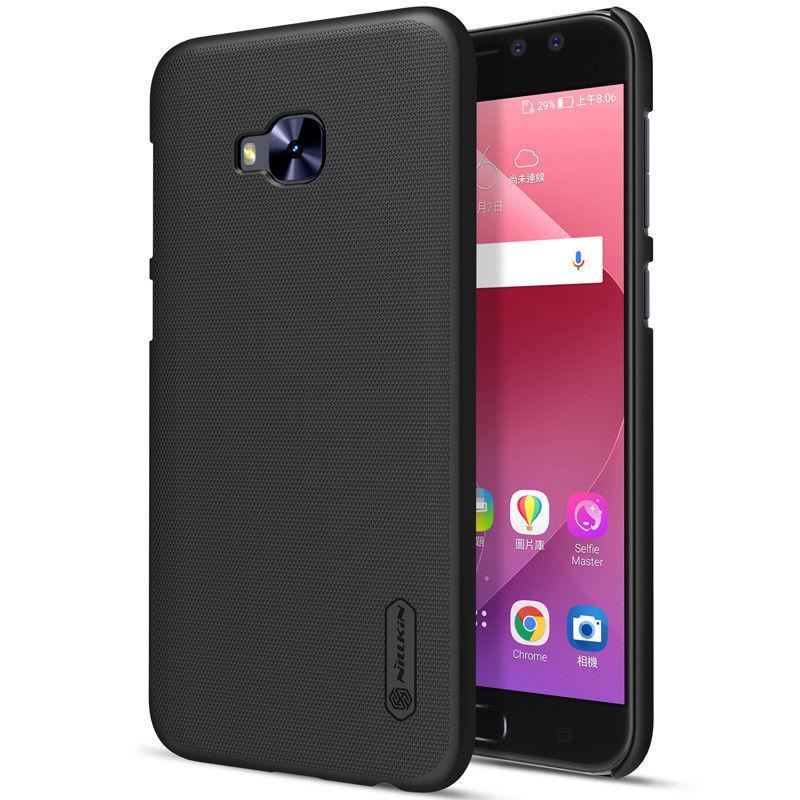Nillkin Asus Zenfone 4 Selfie Pro(ZD552KL)  Super Frosted Shield Black Чехол Накладка Бампер