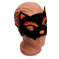 Маска Кошки на Хеллоуин