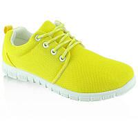 11-19 Желтые беговые женские кроссовки H-08 37,36