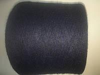 Мохер темно-синего цвета, 38% альпака 26% меринос 36% нейлон