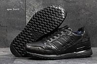 Зимние кроссовки Adidas Zx 750 , чёрные