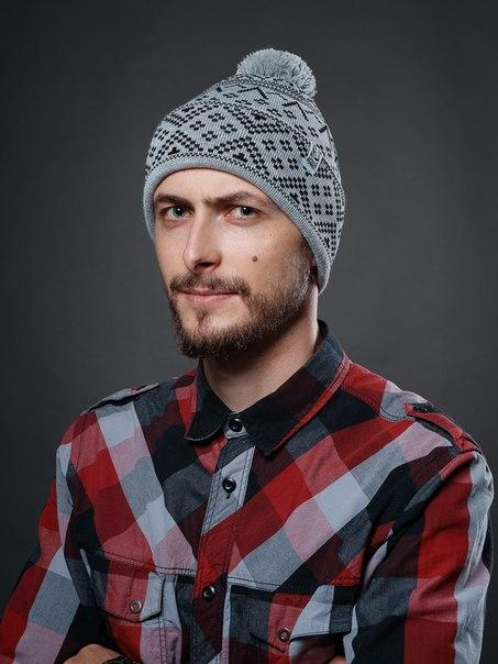 Шапка - Urbanplanet  - Pom С25 Mel (Зимняя/Зимова шапка)