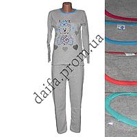 Женская пижама (тонкая байка) 1810 (р-ры 46-52) оптом со склада в Одессе.