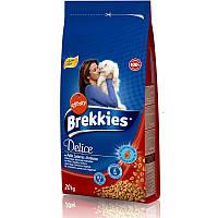 Корм для котов Brekkies Exel (Бреккис Эксель) Cat  Delice, с мясом 20 кг