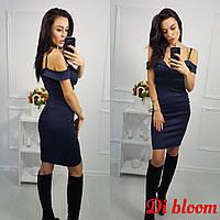 Платье вечернее, ткань -дайвинг (12015)