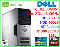 Ситемный блок DELL Core 2 Duo/RAM 2GB/HDD 160GB + WiFi