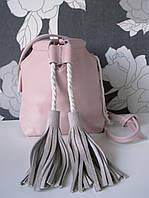 Нежная сумочка-кисет в цвете Розовая Пудра