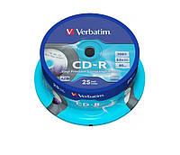 Диски CD-R Verbatim AZO Vinyl Printable 700Mb