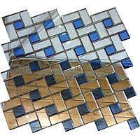 Мозаика Vivacer Зеркало ZD-16 30.2x30.2//4.3х2.2/ 2х2
