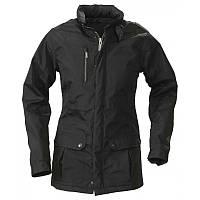 Модная удлиненная и утепленная женская куртка
