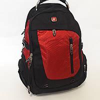 Городской рюкзак  Swiss 6611 red, фото 1