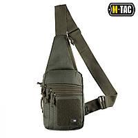 M-Tac сумка-кобура наплечная с липучкой олива