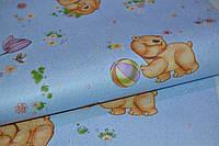 Обои бумажные, детский рисунок,  детские, Мишутка 1105, 0,53*10м