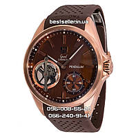Часы TAG Heuer Grand Carrera Pendulum Tourbillon Gold/Brown. Класс: AAA., фото 1
