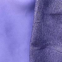 Шторы двухсторонние из льна №М56 синий