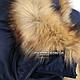 Куртка зимняя n-2b Blue, фото 4