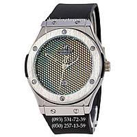 Мужские наручные часы Hublot 882888 Classic Fusion Black-Silver, Хублот классик