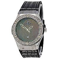 Мужские наручные часы Hublot Classic Fusion Black-Silver Crystal, Хублот классик