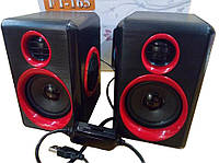 ТОП ВЫБОР! колонки FT-165, акустика FT-165, FT-165, динамики FT-165, колонки юсб, колонки USB, Usb колонки для компьютера, аудио колонки