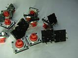 Кнопка тактовая ALPS 12x12x7.3mm (типа OMRON B3F) для DMX пультов, фото 2