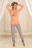 Пижама Violet deluxП-М-58 персик XL