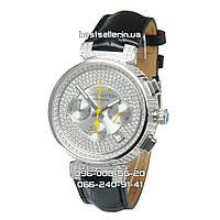 Часы Louis Vuitton Tambour LV277 Diamond Silver/White/Black. Класс: Elite.
