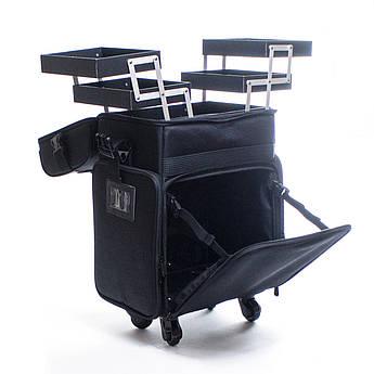 Профессиональный бьюти-кейс на колёсах Beauties Factory Makeup Box