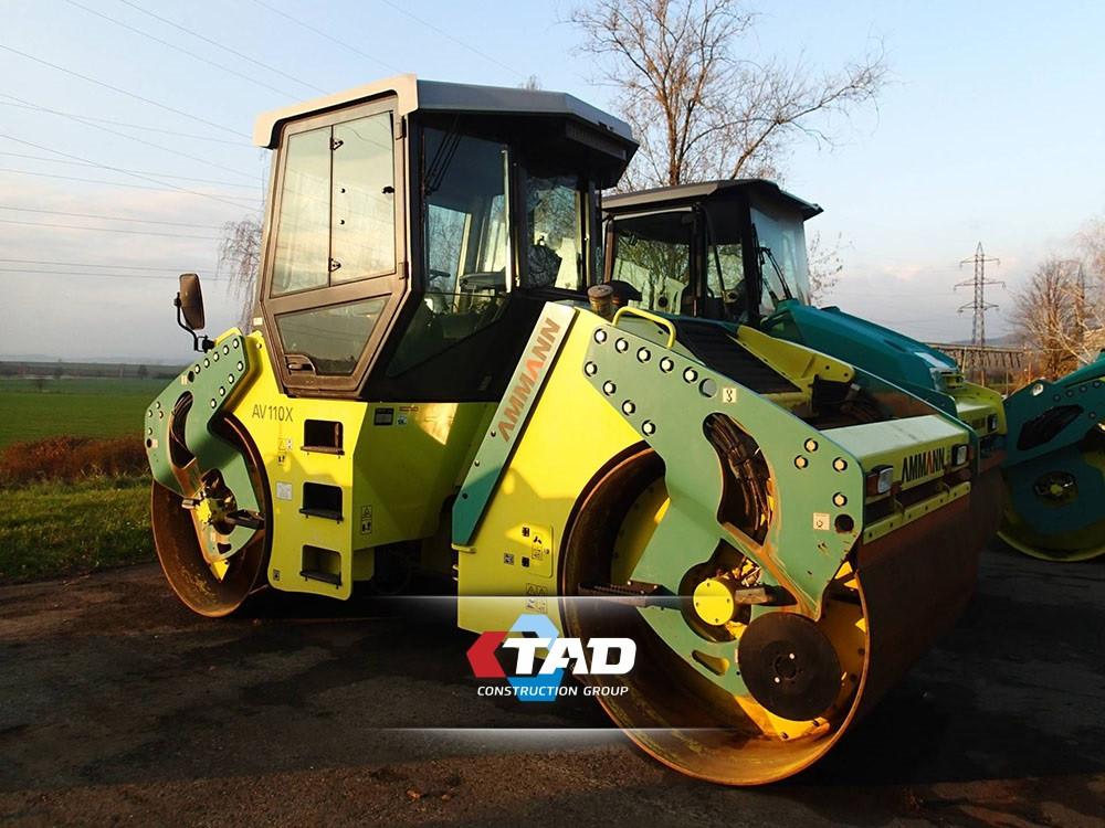 Дорожній коток AMMANN AV110X4 T3 (2013 м)