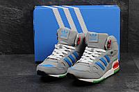 Мужские зимние кроссовки Adidas Zx 750 серые 3285
