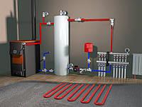 Отопление,установка котлов,радиаторов