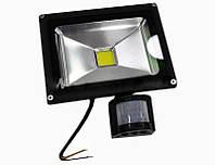 ТОП ВЫБОР! LED прожектор, лед прожектор, светодиодный прожектор, прожектор светодиодный с датчиком движения, прожектор светодиодный, 1002560
