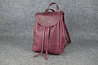 Молодежный рюкзак на затяжке XL   Винтажный Бордо, фото 1