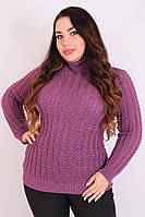 Свитер большого размера Алла (10 цв), свитер женский для полных, легкий женский свитер, дропшиппинг украина